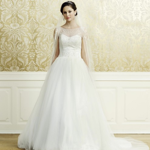 Wedding dress 3543 by Lilly Bridal Denmark