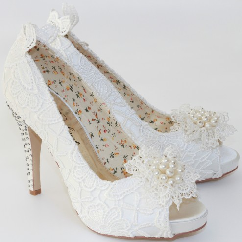 Flo Shoes by Perfect Bridal Shoes