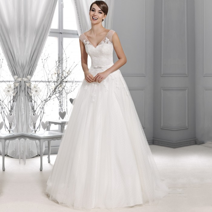 Pretty Dresses Dresses Dream Wedding Dresses: Agnes Bridal Dream Wedding Dress KA-14001