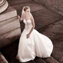 Oleg Cassini Satin Wedding Dress3