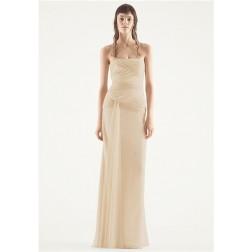 White Vera Wang Шифоновое Свадебное платье