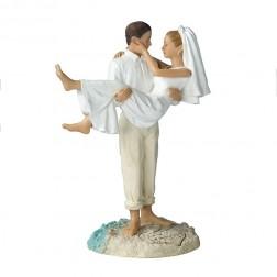 """Свадьба на пляже"" фигурка для торта"